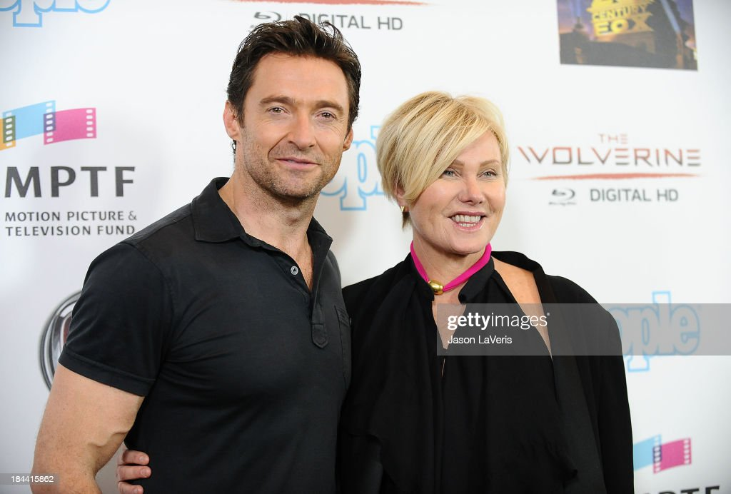 Actor <a gi-track='captionPersonalityLinkClicked' href=/galleries/search?phrase=Hugh+Jackman&family=editorial&specificpeople=202499 ng-click='$event.stopPropagation()'>Hugh Jackman</a> and wife <a gi-track='captionPersonalityLinkClicked' href=/galleries/search?phrase=Deborra-Lee+Furness&family=editorial&specificpeople=542814 ng-click='$event.stopPropagation()'>Deborra-Lee Furness</a> attend <a gi-track='captionPersonalityLinkClicked' href=/galleries/search?phrase=Hugh+Jackman&family=editorial&specificpeople=202499 ng-click='$event.stopPropagation()'>Hugh Jackman</a>'s 'One Night Only' benefitting the MPTF (Motion Picture & Television Fund) at Dolby Theatre on October 12, 2013 in Hollywood, California.