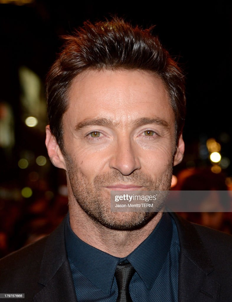 Actor <a gi-track='captionPersonalityLinkClicked' href=/galleries/search?phrase=Hugh+Jackman&family=editorial&specificpeople=202499 ng-click='$event.stopPropagation()'>Hugh Jackman</a> arrives at the 'Prisoners' premiere during the 2013 Toronto International Film Festival at The Elgin on September 6, 2013 in Toronto, Canada.