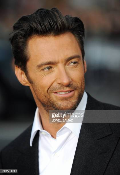 Actor Hugh Jackman arrives for the Los Angeles industry screening of 'XMen OriginsWolverine' at Grauman's Chinese Theater in Hollywood California on...