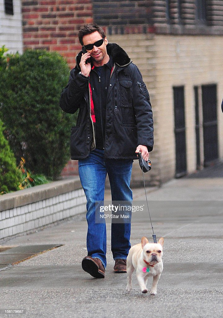 Actor Hugh Jackman as seen on December 10, 2012 in New York City.