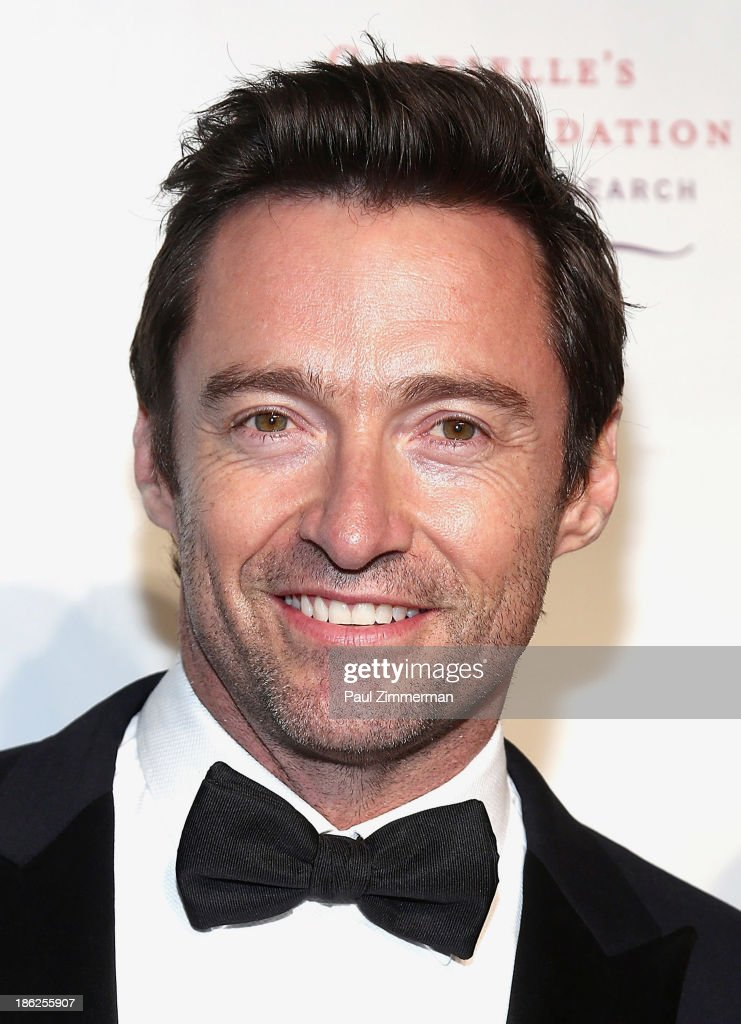 Actor <a gi-track='captionPersonalityLinkClicked' href=/galleries/search?phrase=Hugh+Jackman&family=editorial&specificpeople=202499 ng-click='$event.stopPropagation()'>Hugh Jackman</a> attends Angel Ball 2013 at Cipriani Wall Street on October 29, 2013 in New York City.