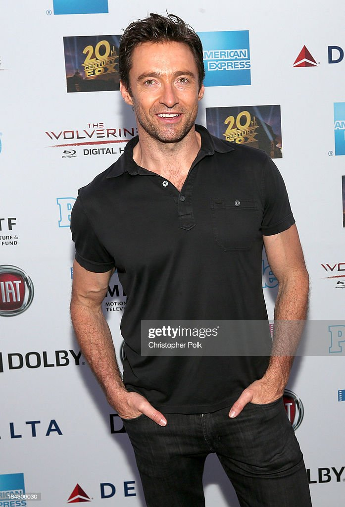 Actor Hugh Jackman attends 'Hugh Jackman... One Night Only' Benefiting MPTF at Dolby Theatre on October 12, 2013 in Hollywood, California.
