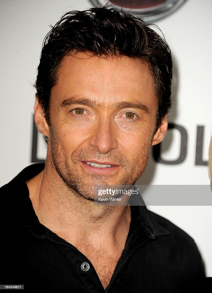 Actor <a gi-track='captionPersonalityLinkClicked' href=/galleries/search?phrase=Hugh+Jackman&family=editorial&specificpeople=202499 ng-click='$event.stopPropagation()'>Hugh Jackman</a> attends '<a gi-track='captionPersonalityLinkClicked' href=/galleries/search?phrase=Hugh+Jackman&family=editorial&specificpeople=202499 ng-click='$event.stopPropagation()'>Hugh Jackman</a>..One Night Only' benefiting the MPTF at the Dolby Theatre on October 12, 2013 in Los Angeles, California.