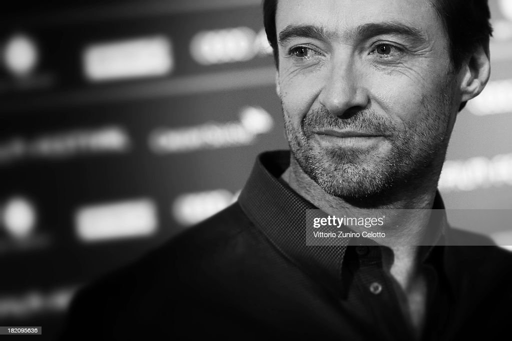 Actor <a gi-track='captionPersonalityLinkClicked' href=/galleries/search?phrase=Hugh+Jackman&family=editorial&specificpeople=202499 ng-click='$event.stopPropagation()'>Hugh Jackman</a> attends 'Prisoners' Press Conference held at Baur au lac on September 28, 2013 in Zurich, Switzerland.