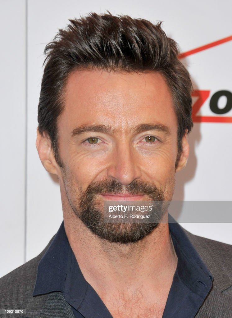 Actor <a gi-track='captionPersonalityLinkClicked' href=/galleries/search?phrase=Hugh+Jackman&family=editorial&specificpeople=202499 ng-click='$event.stopPropagation()'>Hugh Jackman</a> attends the 13th Annual AFI Awards at Four Seasons Los Angeles at Beverly Hills on January 11, 2013 in Beverly Hills, California.