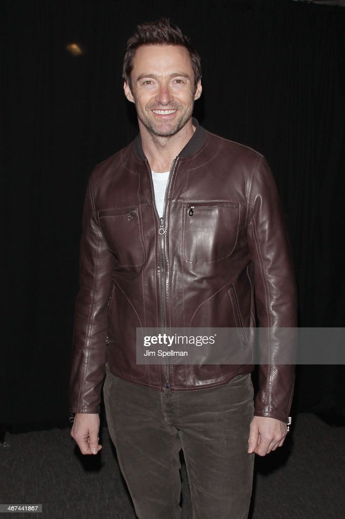 Actor <a gi-track='captionPersonalityLinkClicked' href=/galleries/search?phrase=Hugh+Jackman&family=editorial&specificpeople=202499 ng-click='$event.stopPropagation()'>Hugh Jackman</a> attends the 2014 BAM Theater gala at Skylight One Hanson on February 6, 2014 in the Brooklyn borough of New York City.