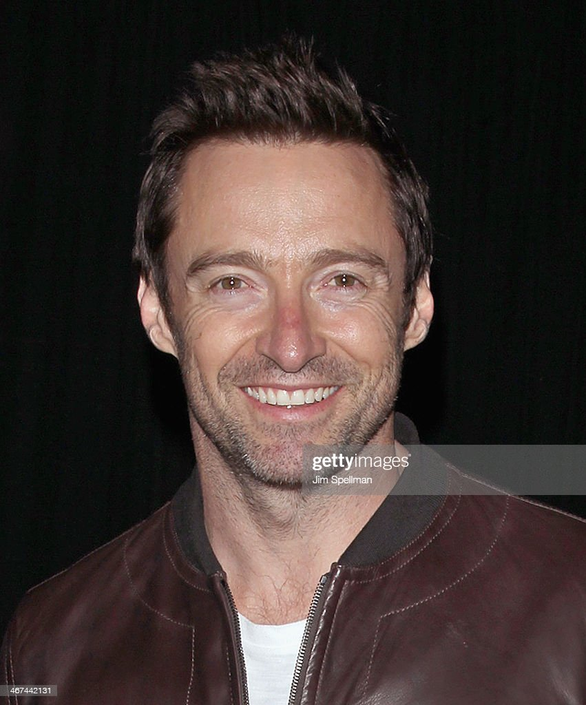 Actor Hugh Jackman attends the 2014 BAM Theater gala at Skylight One Hanson on February 6, 2014 in the Brooklyn borough of New York City.
