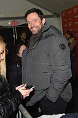 Actor Hugh Jackman attends the Community/Townie Tuesday at Library Center Theater on January 26 2016 in Park City Utah