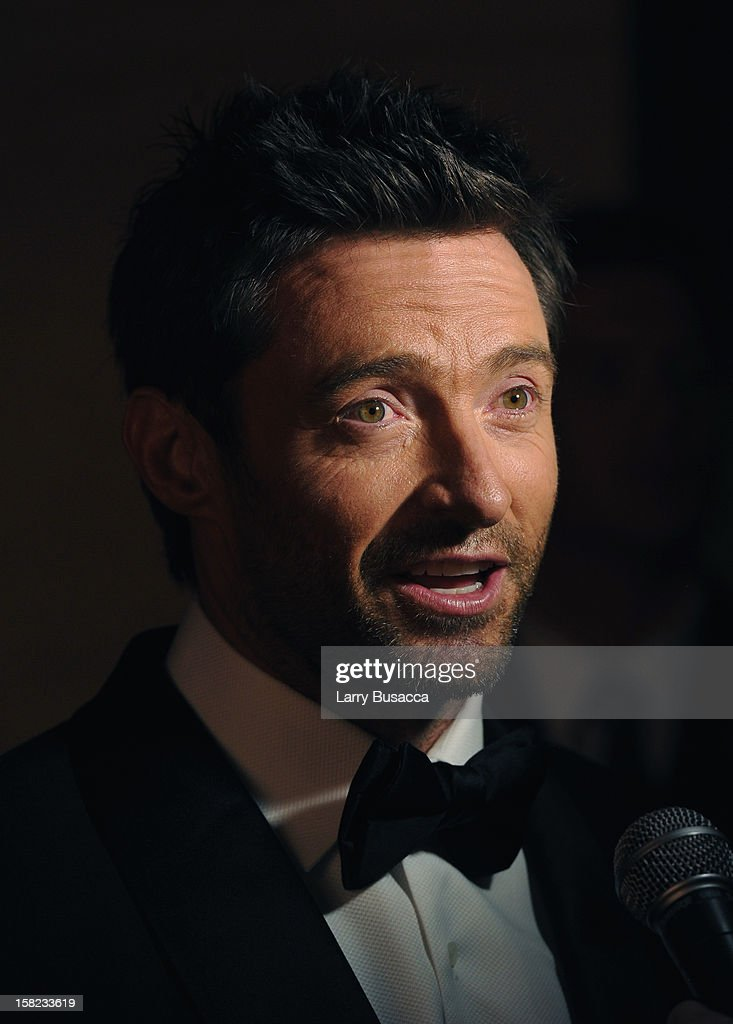 Actor <a gi-track='captionPersonalityLinkClicked' href=/galleries/search?phrase=Hugh+Jackman&family=editorial&specificpeople=202499 ng-click='$event.stopPropagation()'>Hugh Jackman</a> attends the Museum Of Moving Images Salute To <a gi-track='captionPersonalityLinkClicked' href=/galleries/search?phrase=Hugh+Jackman&family=editorial&specificpeople=202499 ng-click='$event.stopPropagation()'>Hugh Jackman</a> at Cipriani Wall Street on December 11, 2012 in New York City.