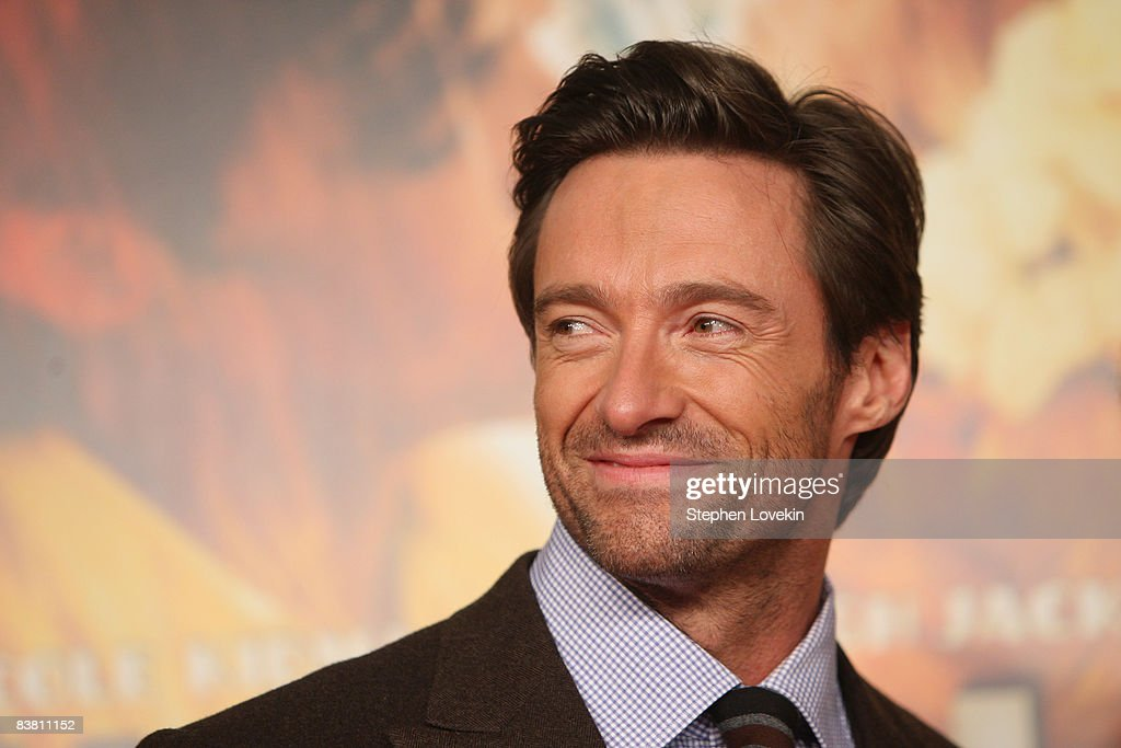Actor <a gi-track='captionPersonalityLinkClicked' href=/galleries/search?phrase=Hugh+Jackman&family=editorial&specificpeople=202499 ng-click='$event.stopPropagation()'>Hugh Jackman</a> attends the premiere of 'Australia' at the Ziegfeld Theater on November 24, 2008 in New York City.