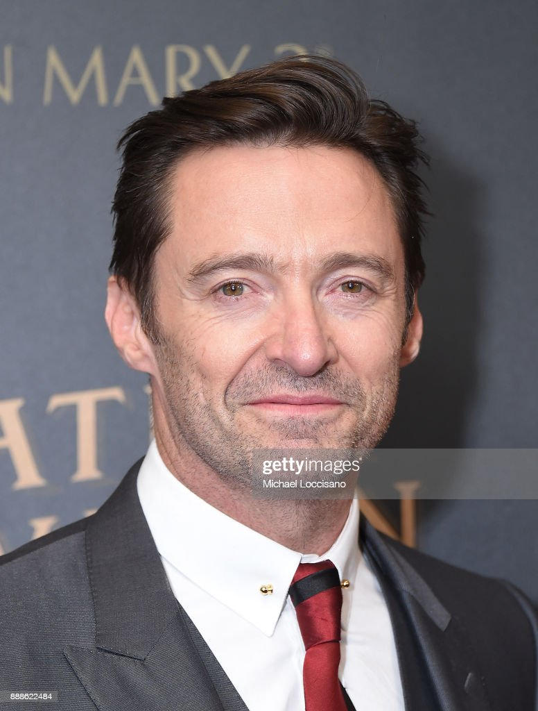 Actor Hugh Jackman attends the 'The Greatest Showman' World Premiere aboard the Queen Mary 2 at the Brooklyn Cruise Terminal on December 8, 2017 in the Brooklyn borough of New York City.