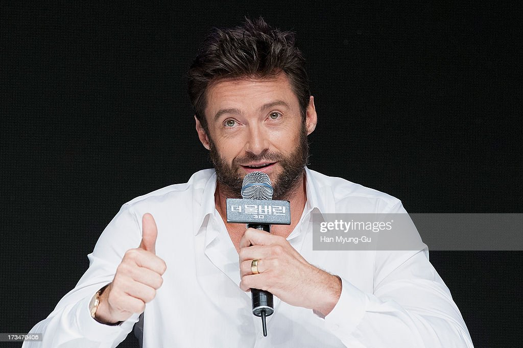 Hugh Jackman is visiting South Korea to promote his recent film 'The