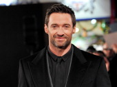 Actor Hugh Jackman attends the World Premiere of 'Les Miserables' at Odeon Leicester Square on December 5 2012 in London England
