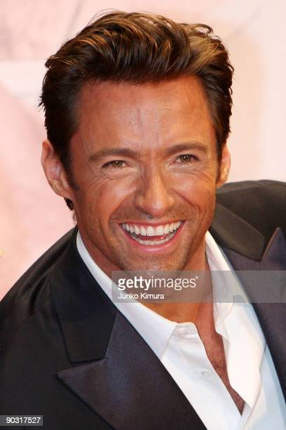 Actor Hugh Jackman attends the 'XMen Origins Wolverine' Japan Premiere at Roppongi Hills on September 3 2009 in Tokyo Japan The film will open on...