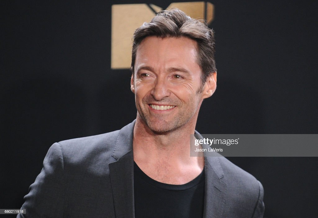 Actor Hugh Jackman poses in the press room at the 2017 MTV Movie and TV Awards at The Shrine Auditorium on May 7, 2017 in Los Angeles, California.