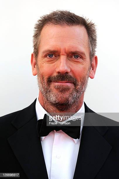 Actor Hugh Laurie arrives at the 63rd Annual Primetime Emmy Awards held at Nokia Theatre LA LIVE on September 18 2011 in Los Angeles California