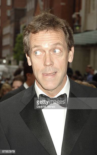 Actor Hugh Laurie arrives at the Pioneer British Academy Television Awards 2006 at the Grosvenor House Hotel on May 7 2006 in London England