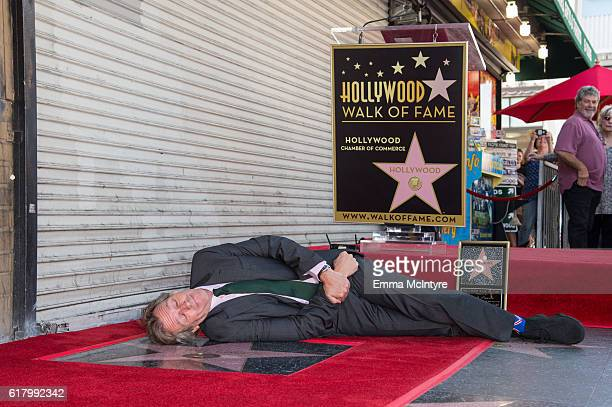 Actor Hugh Laurie attends 'Hugh Laurie honored with star on the Hollywod Walk of Fame' on October 25 2016 in Hollywood California