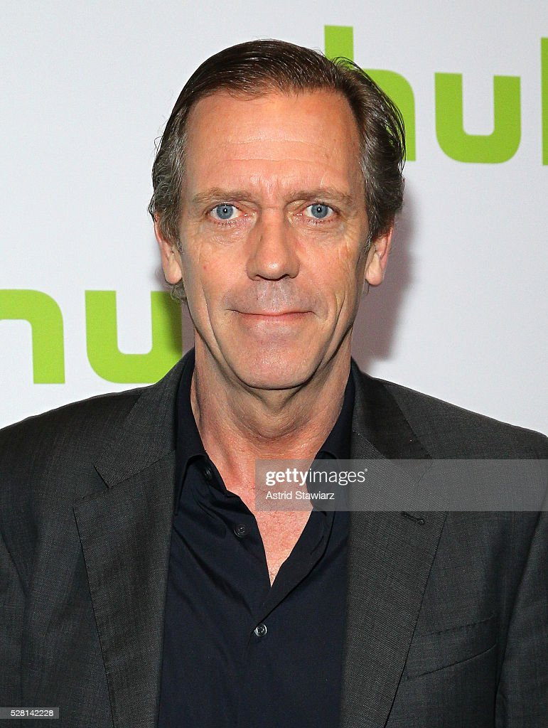Actor <a gi-track='captionPersonalityLinkClicked' href=/galleries/search?phrase=Hugh+Laurie&family=editorial&specificpeople=217383 ng-click='$event.stopPropagation()'>Hugh Laurie</a> attends the 2016 Hulu Upftont on May 04, 2016 in New York, New York.