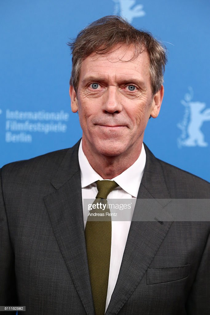 Actor Hugh Laurie attends the 'The Night Manager' premiere during the 66th Berlinale International Film Festival Berlin at Haus der Berlinale on February 18, 2016 in Berlin, Germany.