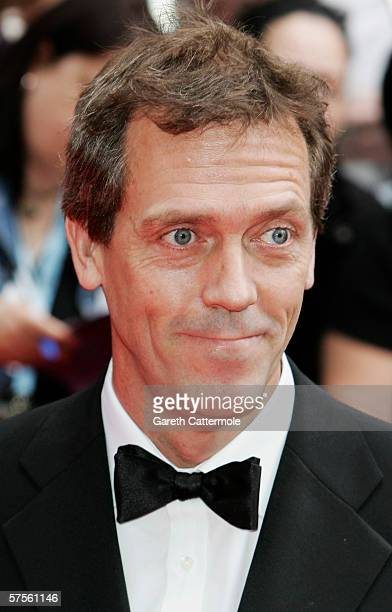 Actor Hugh Lauriearrives at the Pioneer British Academy Television Awards 2006 at the Grosvenor House Hotel on May 7 2006 in London England