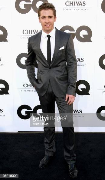 Actor Hugh Sheridan arrives for the 2009 GQ Men Of The Year Awards at Sydney University on November 19 2009 in Sydney Australia