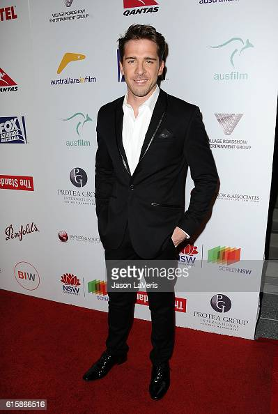 Actor Hugh Sheridan attends the Australians In Film 5th annual awards gala on October 19 2016 in Los Angeles California