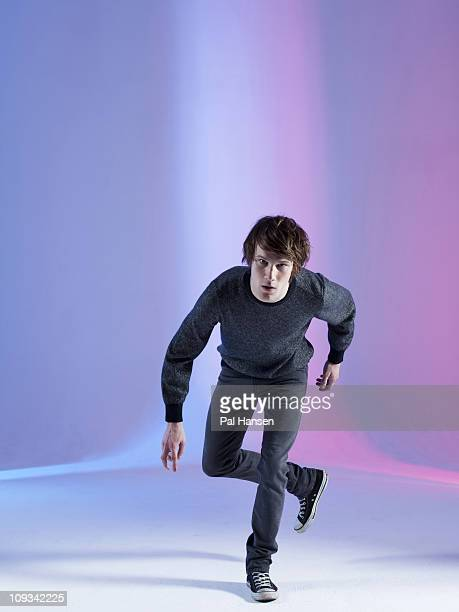 Actor Hugh Skinner poses for a portrait shoot in London on October 27 2010