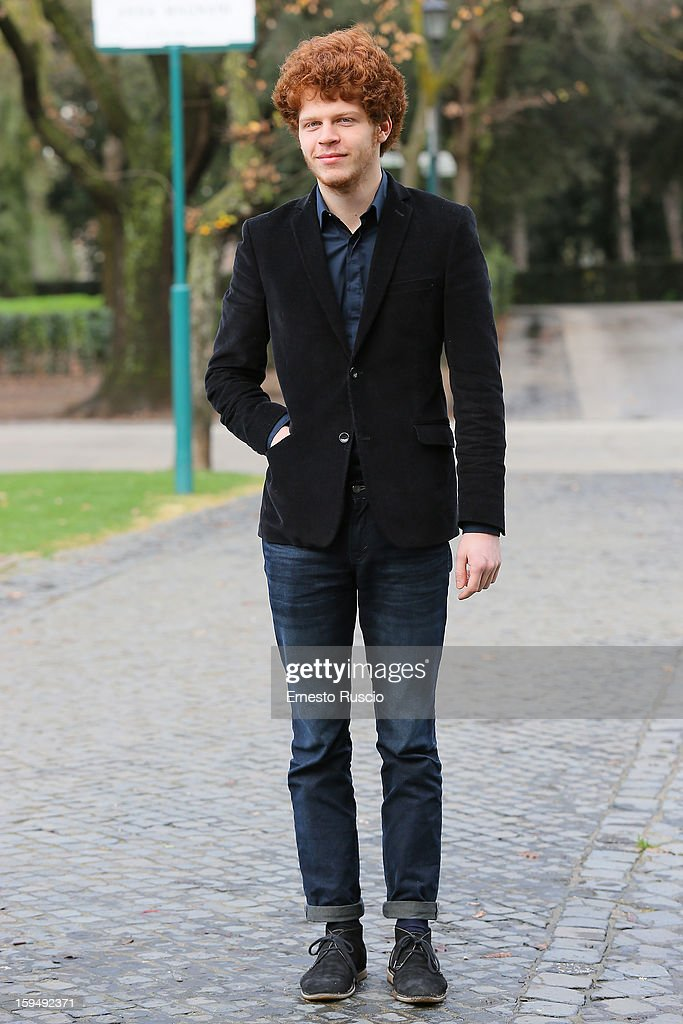 Actor Hugo Conzelmann attends the 'Apres Mai' photocall at Casa del Cinema on January 14, 2013 in Rome, Italy.