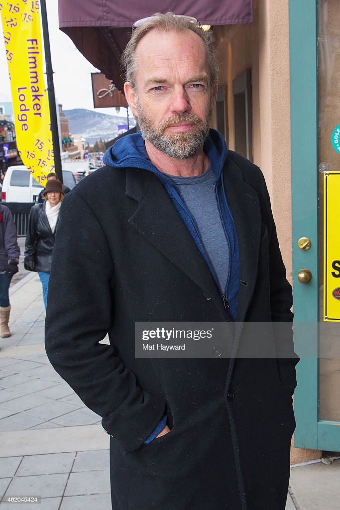 Actor Hugo Weaving at Nikki Beach takes over Park City at Riverhorse on Main during the Sundance Film Festival on January 23, 2015 in Park City, Utah.