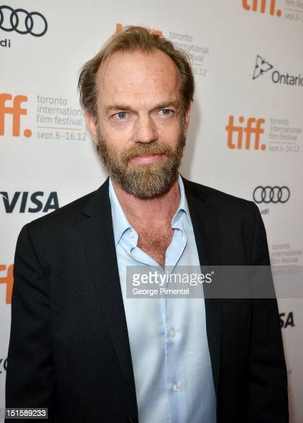 Actor Hugo Weaving attends the 'Cloud Atlas' premiere during the 2012 Toronto International Film Festival at the Princess of Wales Theatre on...