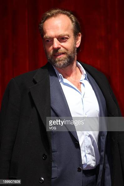 Actor Hugo Weaving attends the premiere of 'Cloud Atlas' on January 22 2013 in Beijing China