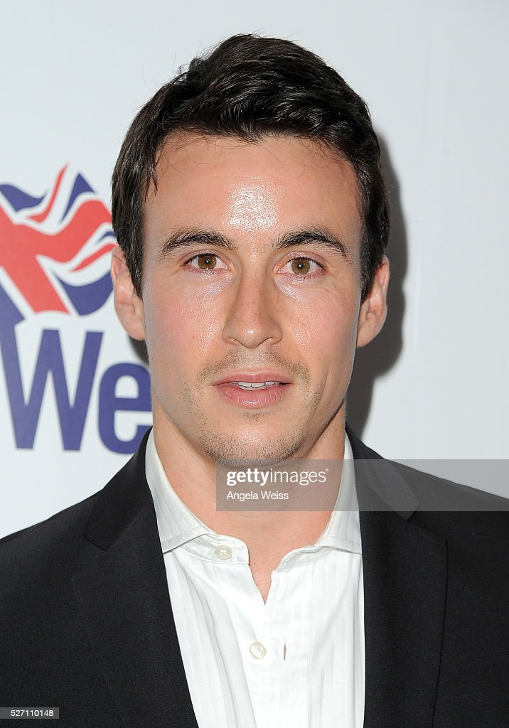 Actor Huw Collins attends BritWeek's 10th Anniversary VIP Reception & Gala at Fairmont Hotel on May 1, 2016 in Los Angeles, California.