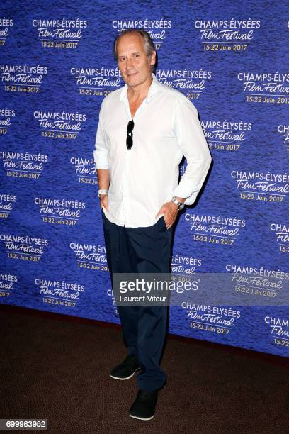 Actor Hyppolite Girardot attends Closing Ceremony of 6th Champs Elysees Film Festival on June 22 2017 in Paris France