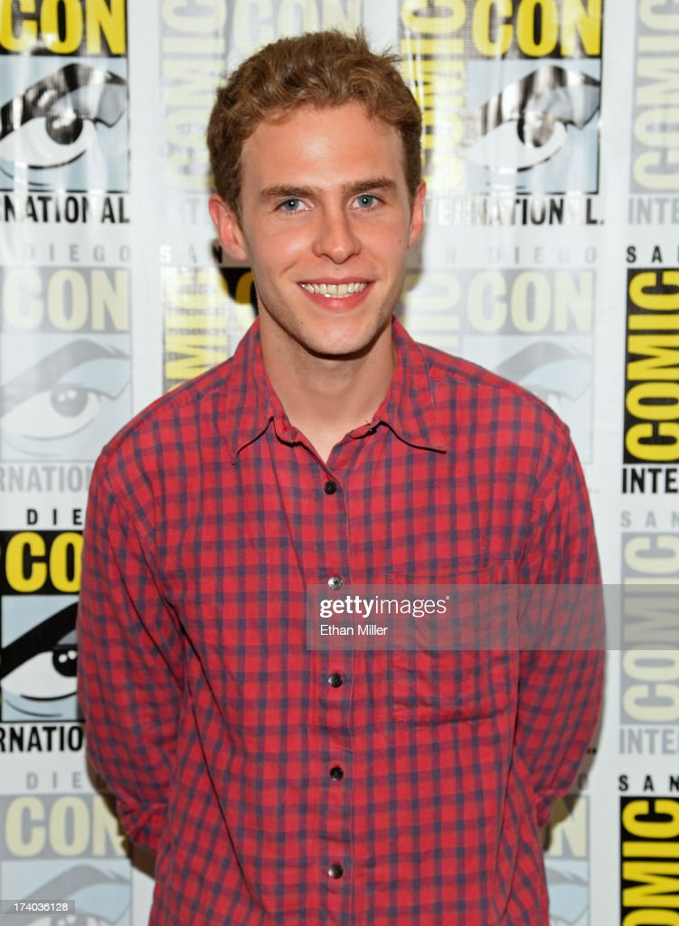 Actor Iain De Caestecker attends Marvel's 'Agents of S.H.I.E.L.D.' press line during Comic-Con International 2013 at the Hilton San Diego Bayfront Hotel on July 19, 2013 in San Diego, California.