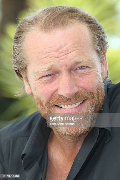 Actor Iain Glen attends 'Jack Taylor' photocall as part of MIPCOM 2011 at Hotel Majestic on October 3 2011 in Cannes France