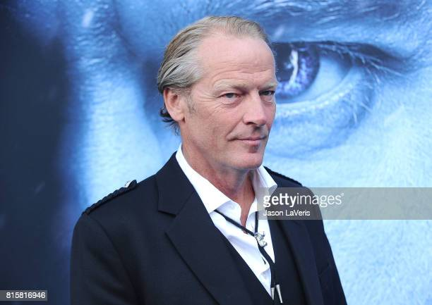 Actor Iain Glen attends the season 7 premiere of 'Game Of Thrones' at Walt Disney Concert Hall on July 12 2017 in Los Angeles California