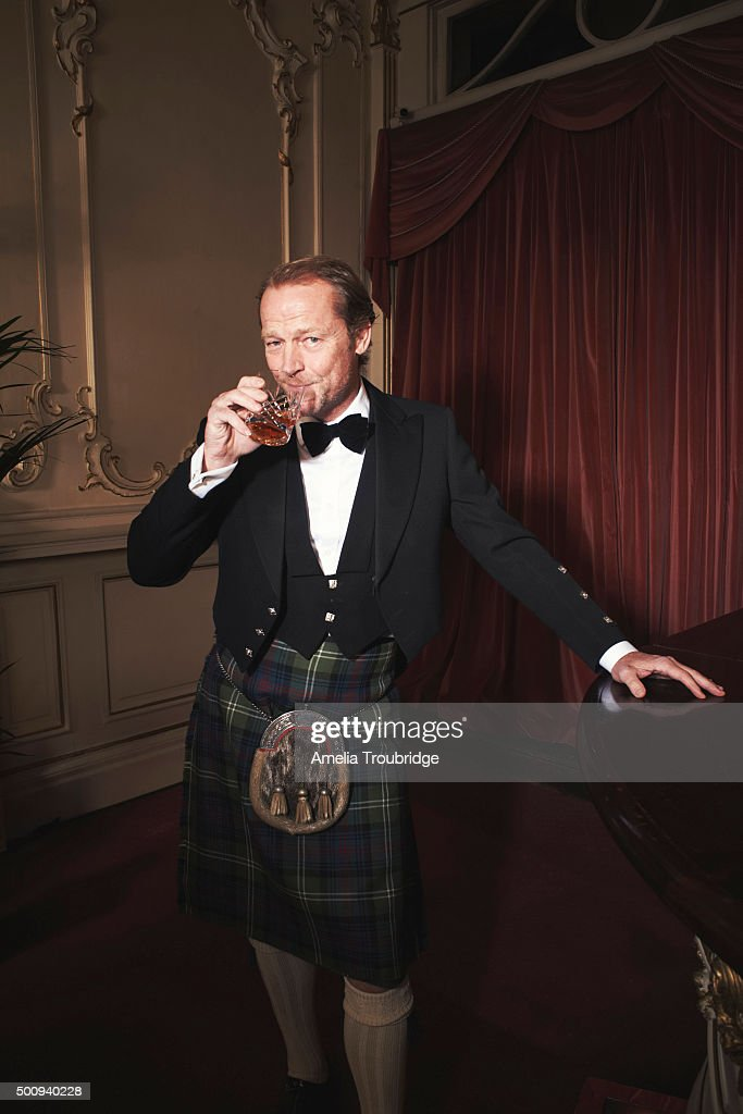 Actor Iain Glen is photographed for ES magazine on September 8, 2014 in London, England.