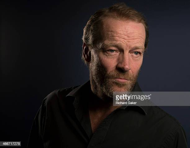 Actor Iain Glen is photographed for the Observer on November 27 2013 in London England