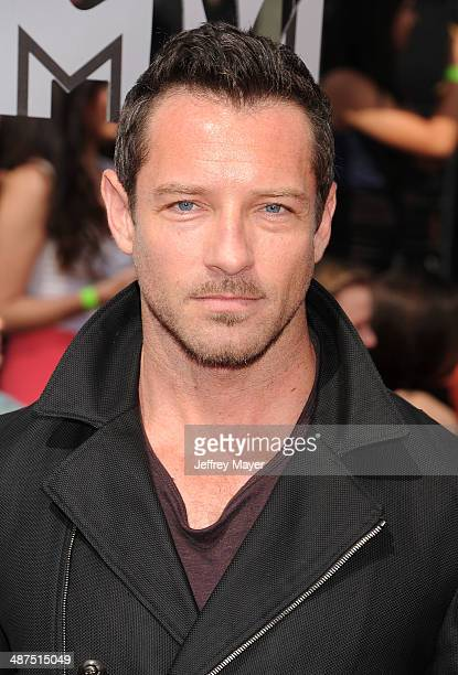 Actor Ian Bohen attends the 2014 MTV Movie Awards at Nokia Theatre LA Live on April 13 2014 in Los Angeles California