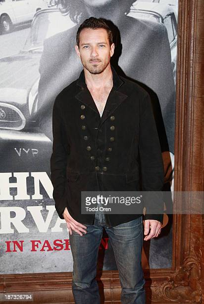Actor Ian Bohen attends the 'John Varvatos Rock In Fashion book launch celebration held at John Varvatos Los Angeles on November 7 2013 in Los...