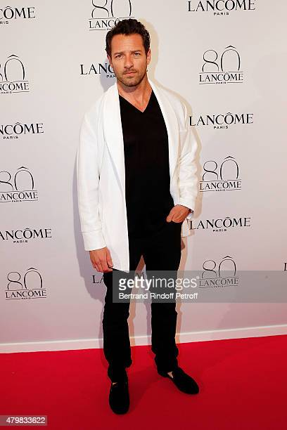 Actor Ian Bohen attends the Lancome 80th Anniversary Party as part of Paris Fashion Week Haute Couture Fall/Winter 2015/2016 on July 7 2015 in Paris...