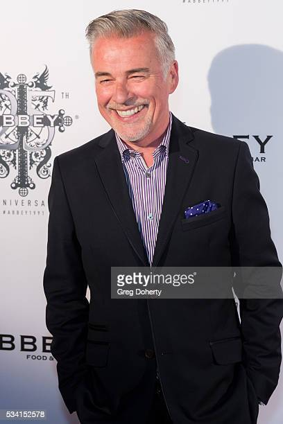 Actor Ian Buchanan arrives at The Abbey Food And Bar Hosts 25th Anniversary Celebration Party at The Abbey on May 24 2016 in West Hollywood California