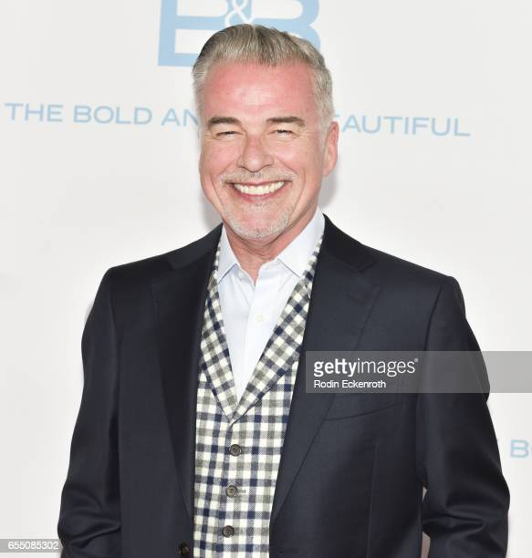 Actor Ian Buchanan attends CBS's 'The Bold and The Beautiful' 30th Anniversary Party at Clifton's Cafeteria on March 18 2017 in Los Angeles California