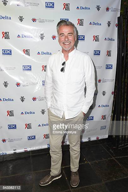 Actor Ian Buchanan attends 'The Elizabeth Taylor AIDS Foundation Hosts HIV Testing' at The Abbey on June 27 2016 in West Hollywood California