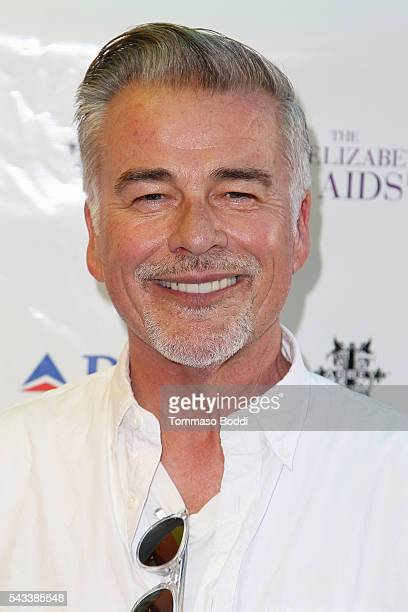 Actor Ian Buchanan attends The Elizabeth Taylor AIDS Foundation Hosts HIV Testing Event at The Abbey on June 27 2016 in West Hollywood California