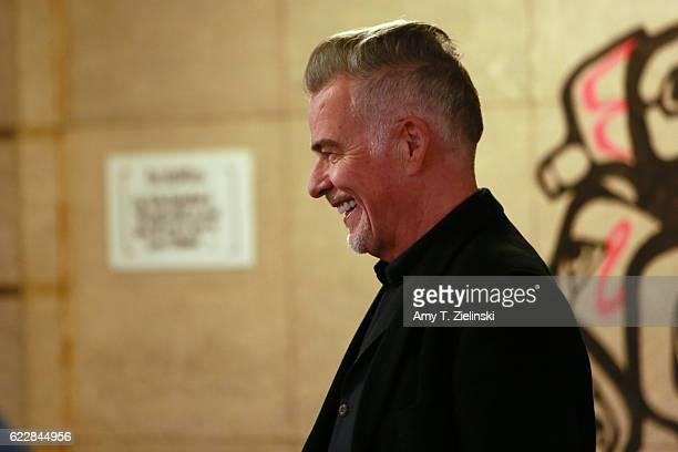 Actor Ian Buchanan who portrayed Dick Tremayne on 'Twin Peaks' poses with fans during the Twin Peaks UK Festival 2016 at Hornsey Town Hall Arts...