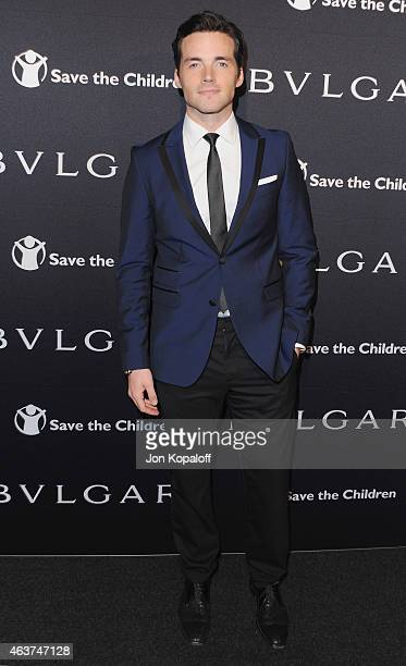 Actor Ian Harding arrives at BVLGARI And Save The Children STOP THINK GIVE PreOscar Event at Spago on February 17 2015 in Beverly Hills California
