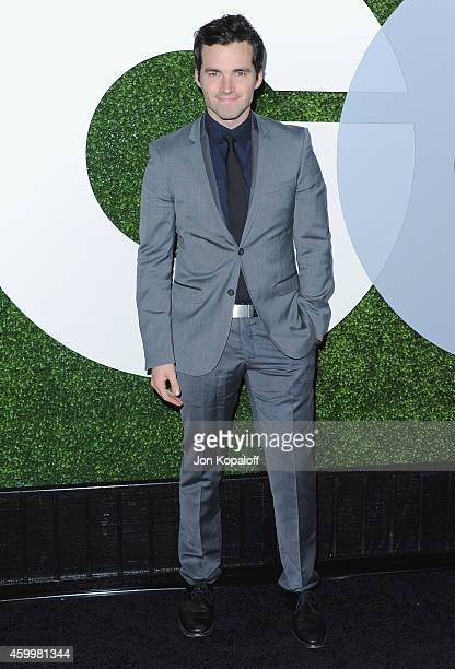 Actor Ian Harding arrives at the 2014 GQ Men Of The Year Party at Chateau Marmont on December 4 2014 in Los Angeles California