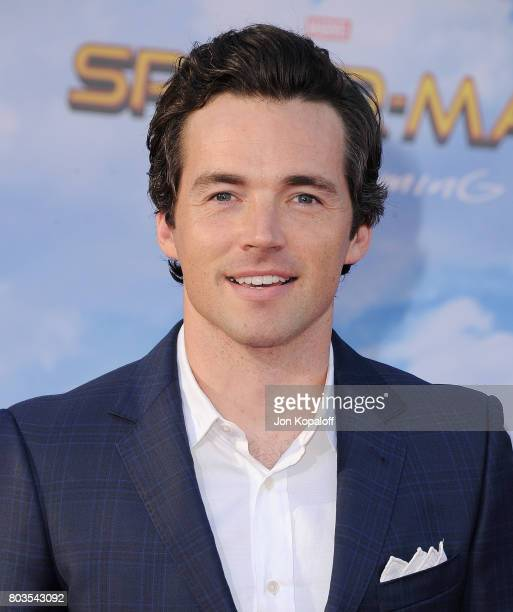Actor Ian Harding arrives at the Los Angeles Premiere 'SpiderMan Homecoming' at TCL Chinese Theatre on June 28 2017 in Hollywood California